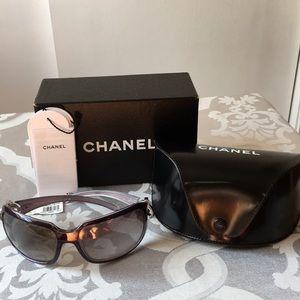 Channel Purple Sunglasses